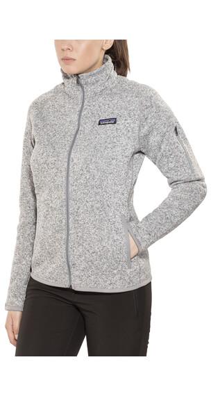 Patagonia Better Sweater Jas Dames grijs